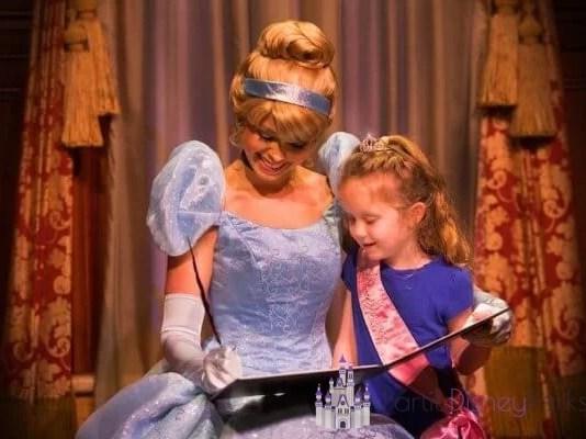 Babá princesa da Disney
