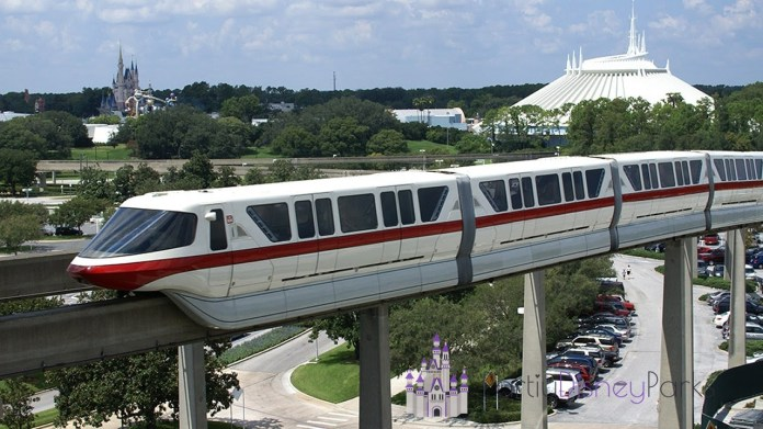 monorail magic kingdom