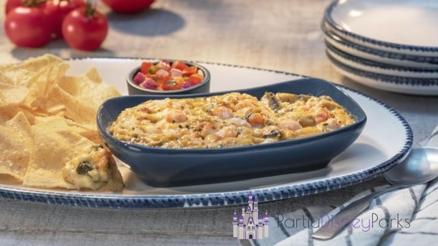 Langostino Lobster-Artichoke-and-Seafood Dip