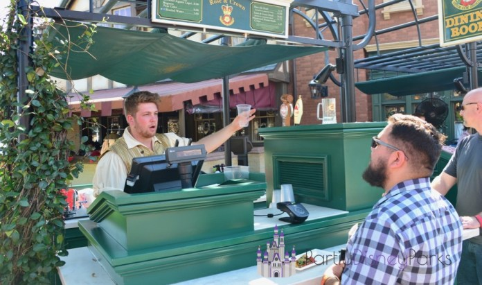 UK Beer Cart-Epcot-Drinking Around the World