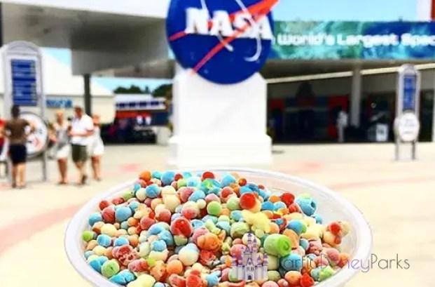 Não deixe de esperimentar o Space Dots no Kennedy Space Center