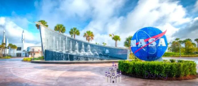 Entrada do Centro de Visitação do Kennedy Space Center
