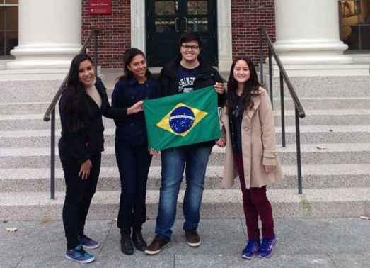 evento em Harvard com tudo pago village to raise a child partiu intercambio juliana marinho