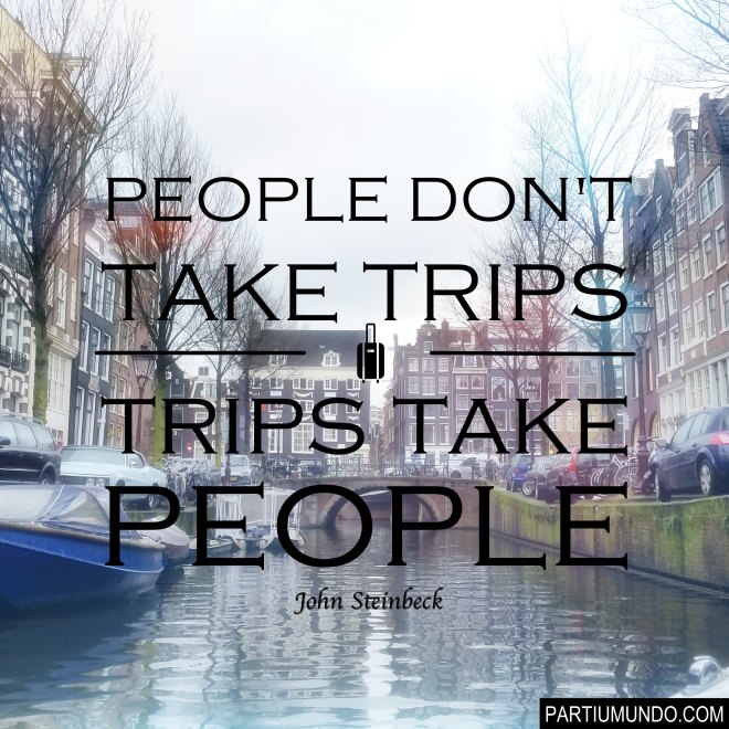 2. amsterdam - netherlands  - travel quotes