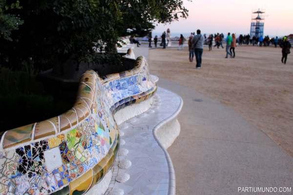 barcelona - park güell 21