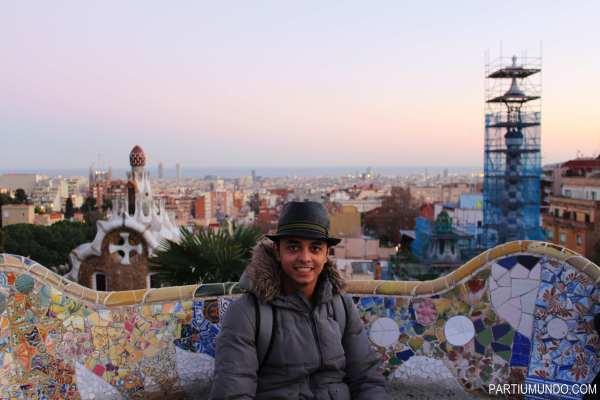 barcelona - park güell 23
