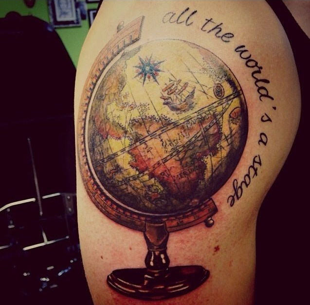 #5 globo / globe