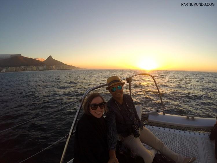 Pôr do sol em Cape Town 14