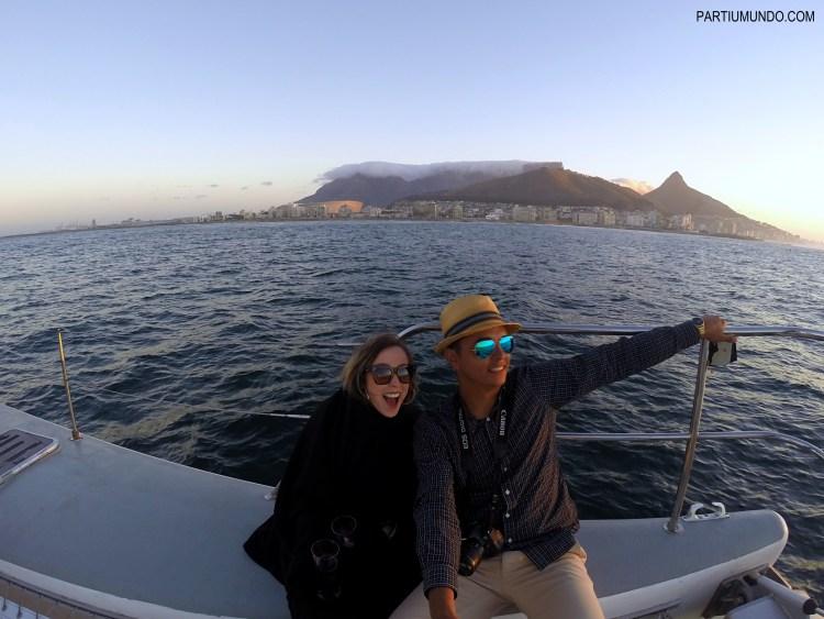 Pôr do sol em Cape Town 15
