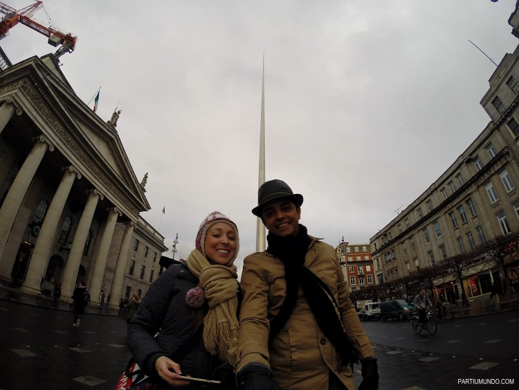 When we first arrived in Dublin