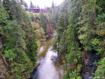 Parque Capilano Suspension Bridge 9