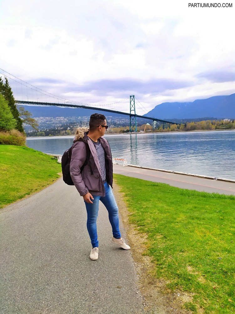 Lions Gate Bridge - Stanley Park