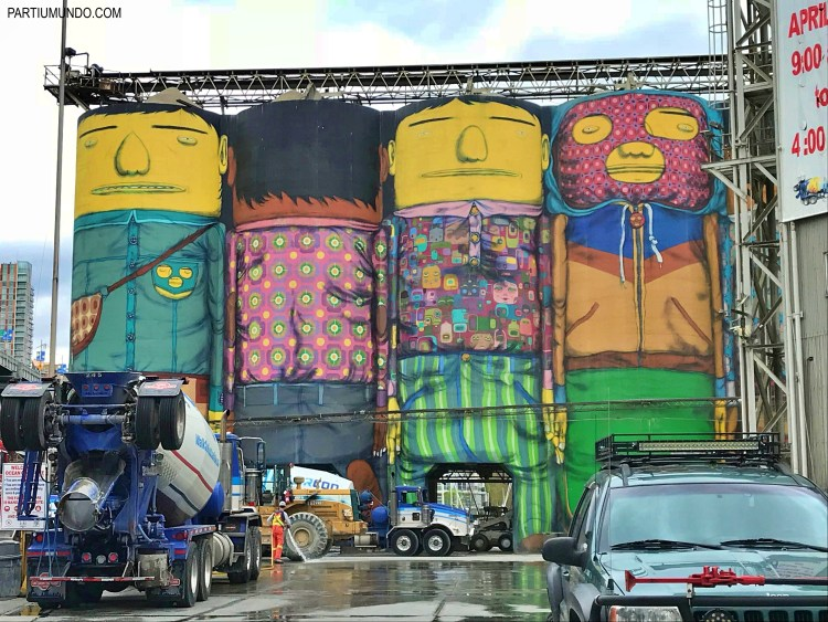 The Giants - Granville Island