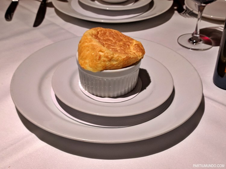 emmental cheese soufflé