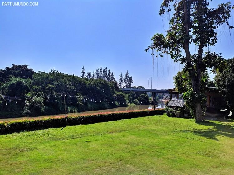 Onde se hospedar em Chiang Mai Riverside 2