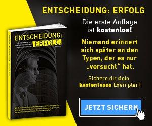 Gratisbuch: ENTSCHEIDUNG: ERFOLG