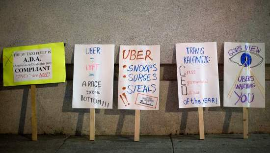 Uber and the On-Demand Economy Take Workers for a Ride