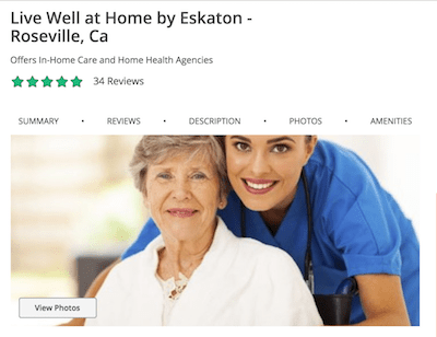 New Home Care Agency Listings on Caring.com — Helping Agencies Better Showcase Their Offering