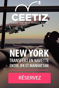 Ceetiz - Transfert en navette entre JFK et Manhattan