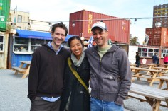 Paul, Arlene & Jason at DeKalb Market