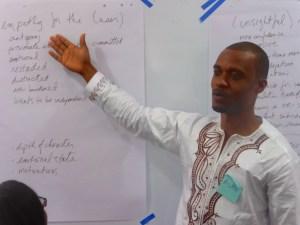 Presenting Brainstorming Ideas