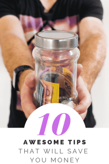 """10 money saving tips"""