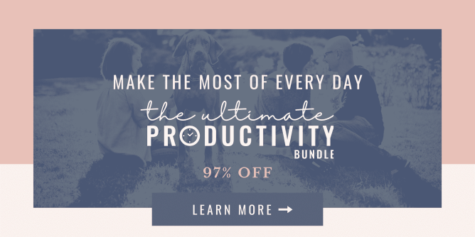 """""""be productive"""""""