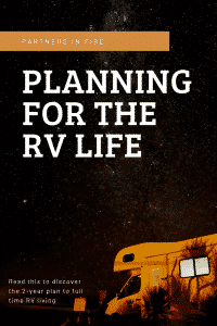 """planning for the rv life"""