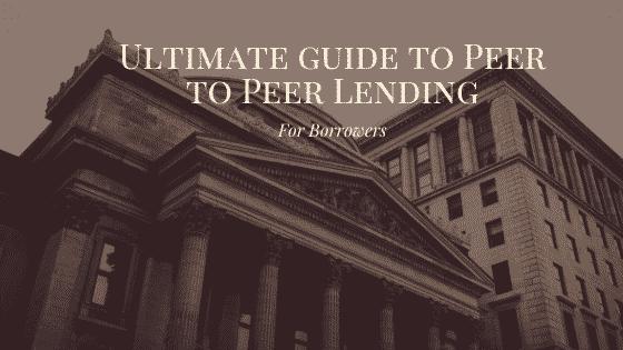 """""""borrowing with peer to peer lending"""""""