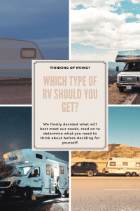 """""""Which type of RV do you need?"""""""