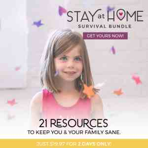 stuck at home survival bundle