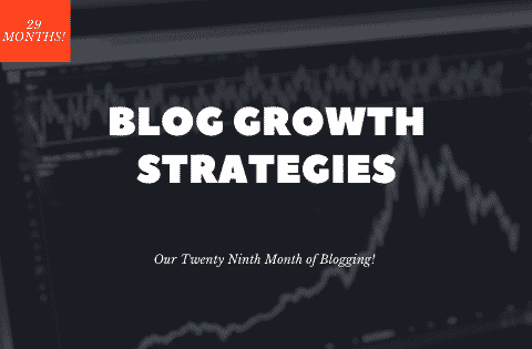 Blog growth strategies 29th month