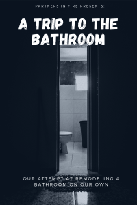 remodeling the bathroom DIY