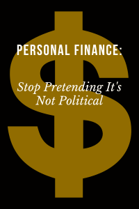 personal finance and politics