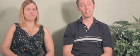 Amanda Spodnick and Thomas Reed