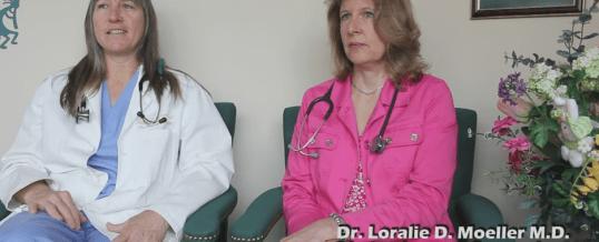 Drs. Karin Spears and Loralie Moeller, MD