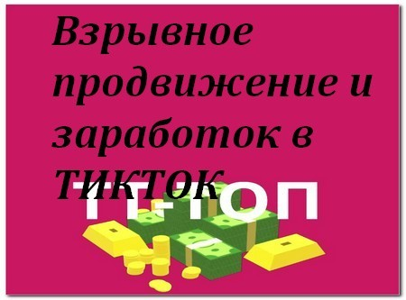 Продвижение и заработок в ТикТок через ТТ-ТОП