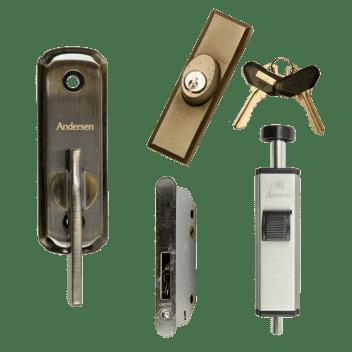 A Series Patio Door Locks Andersen Windows Amp Doors