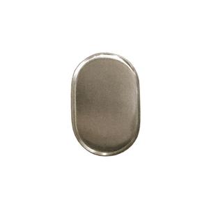 distressed nickel dummy lock cylinder 2573782 andersen doors