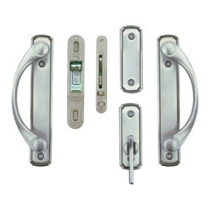 Andersen     Gliding Patio Door Hardware   Complete Trim Set 2579435     Andersen     Gliding Patio Door Hardware   Complete Trim Set 2579435