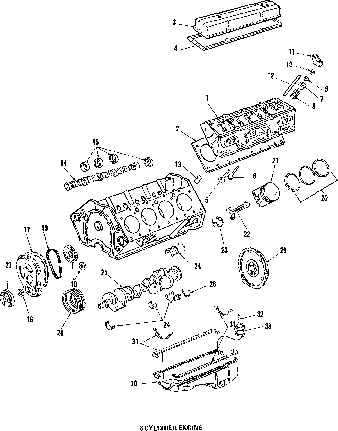 Chevrolet Camaro Cylinder Head Engine Models