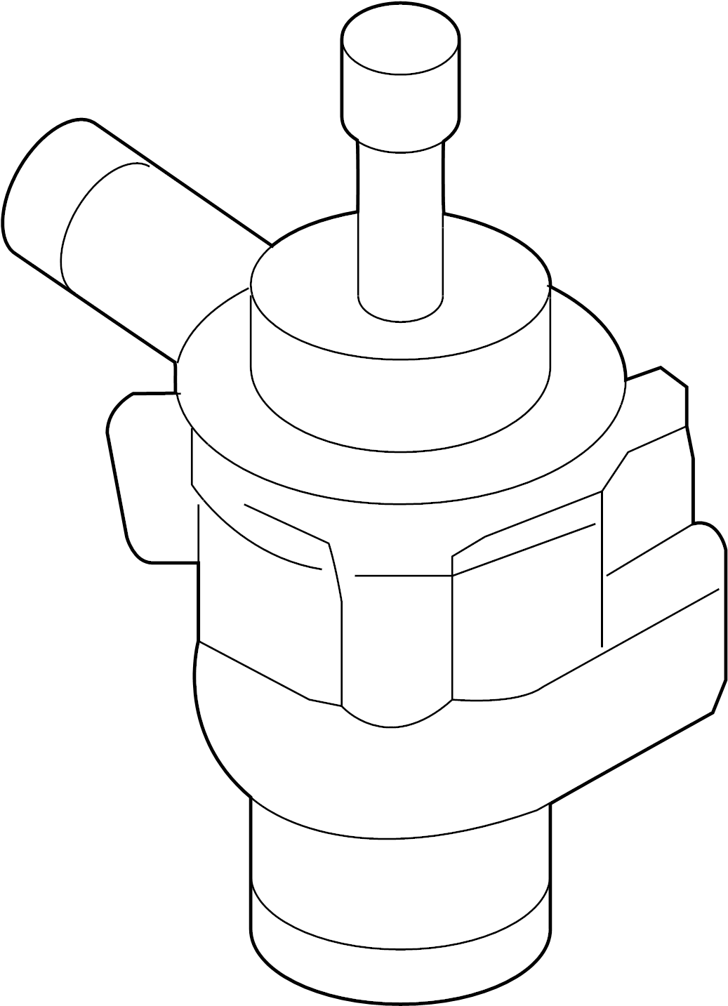 Audi Engine Auxiliary Water Pump