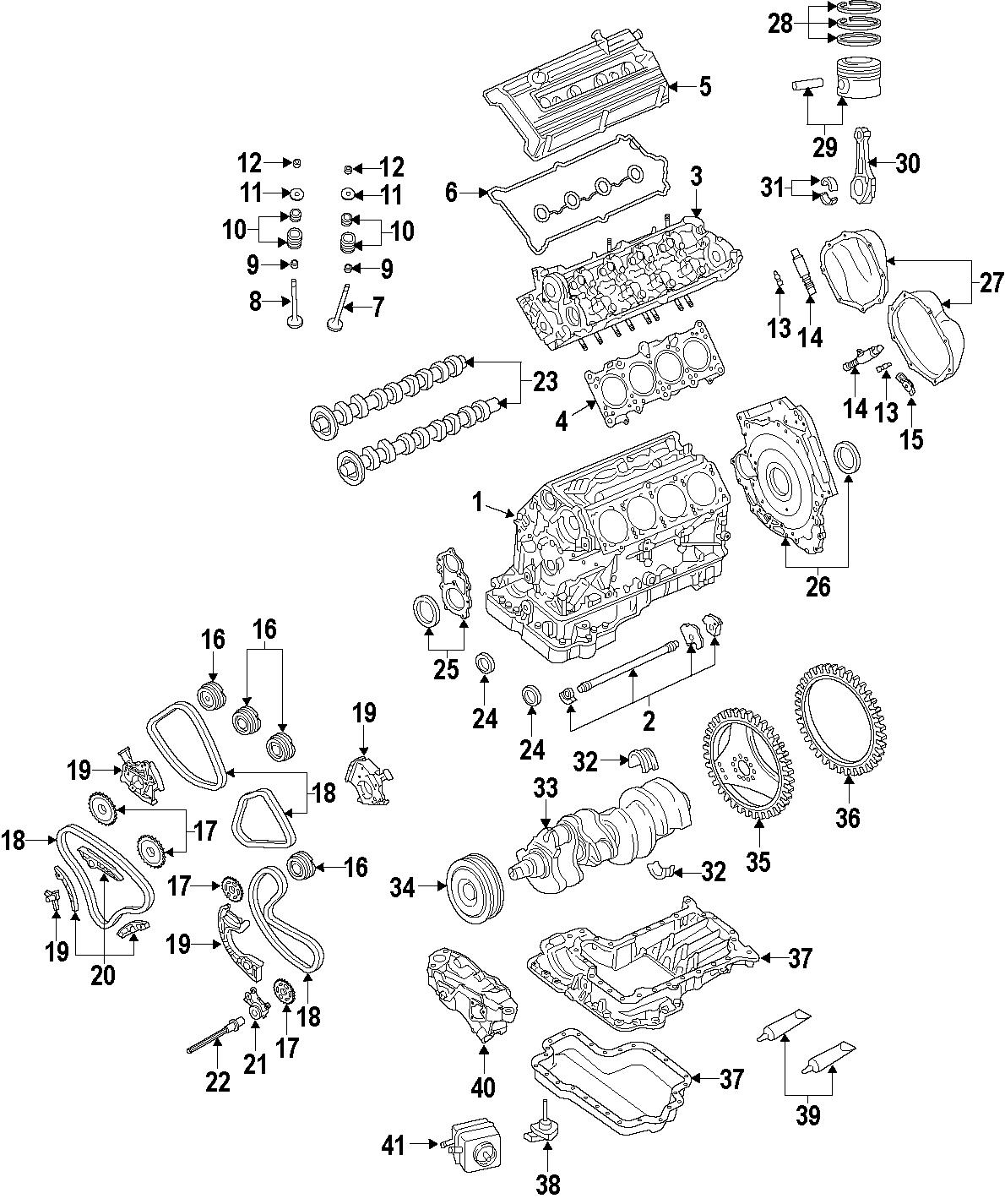Audi A8 Mount Engine