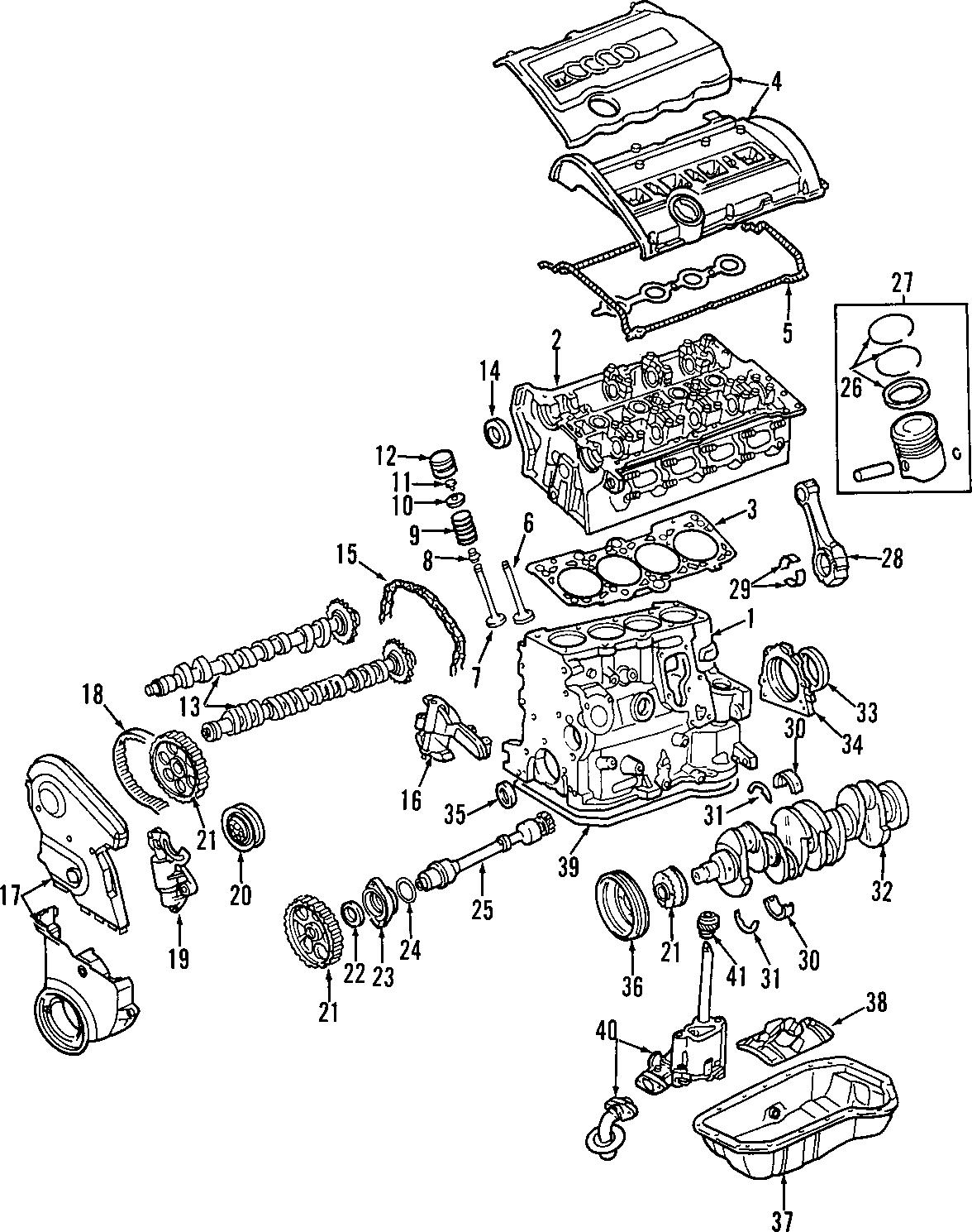Audi Camshaft Gear Engine Timing Camshaft Sprocket