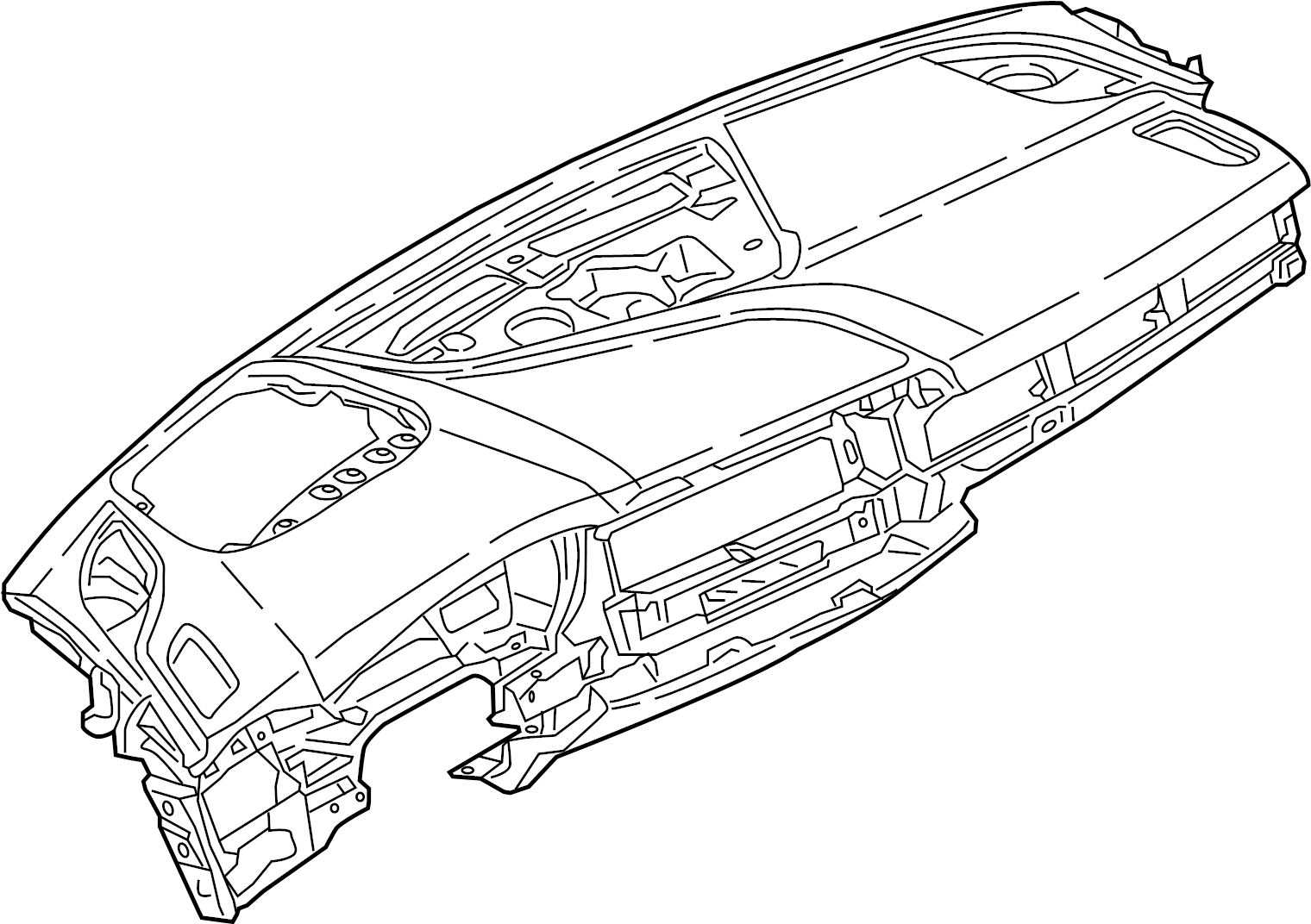 Audi A4 Allroad Dashboard Panel Instrument Panel Panels