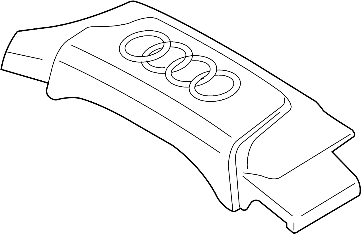 Engine Transaxle Engine Appearance Cover 09 4 2