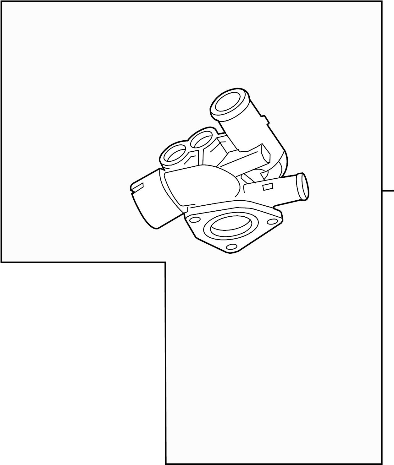 Audi Tt Engine Coolant Thermostat Kit 3 2 Liter
