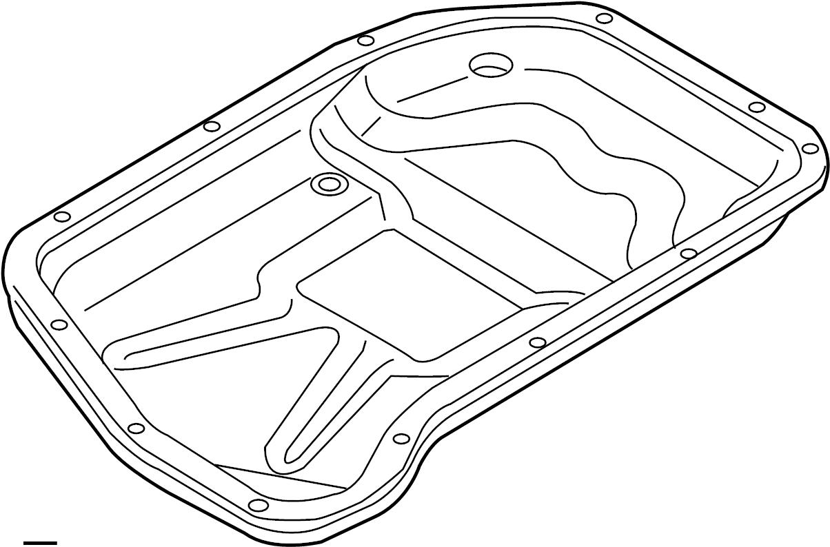 Audi A7 Automatic Transmission Oil Pan Oil Sump