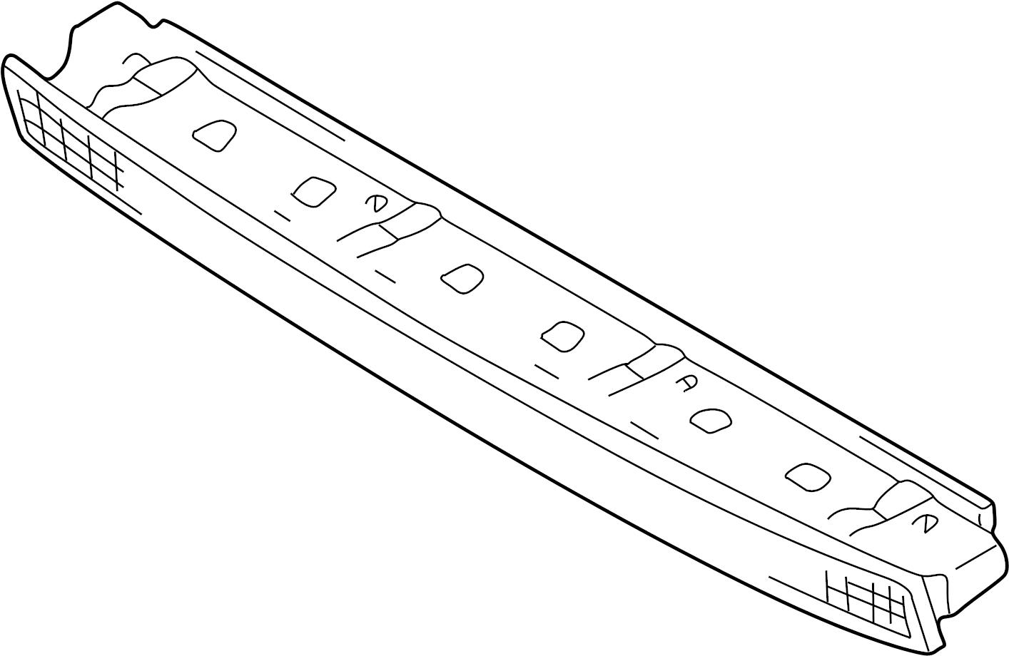 Audi S4 Stop Lamp Mount High Brakelight Center Light Lens And Amplifier