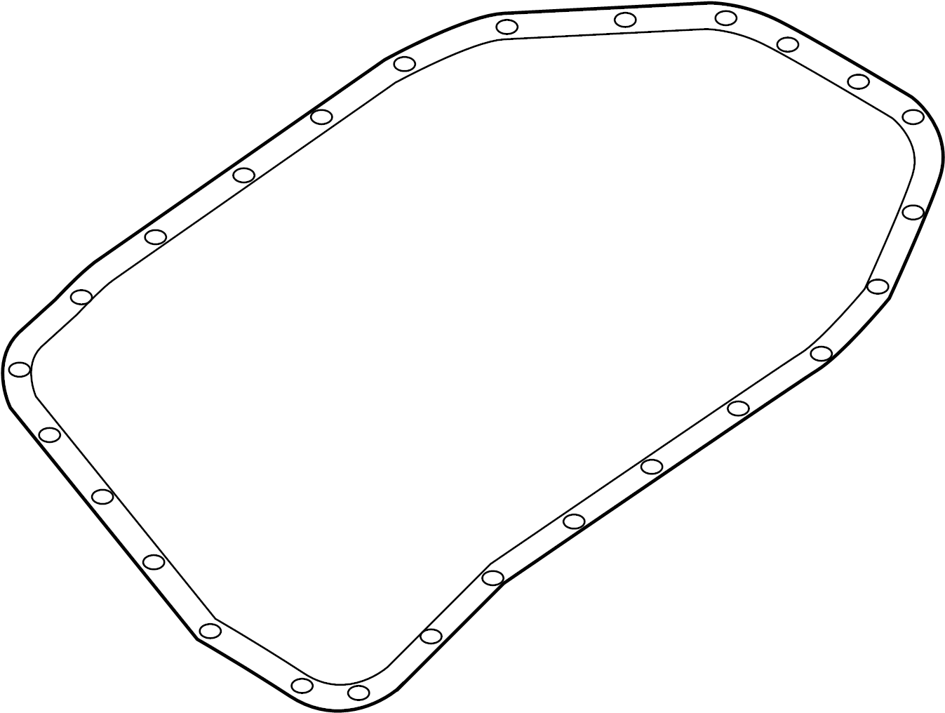 Audi A4 Automatic Transmission Oil Pan Gasket